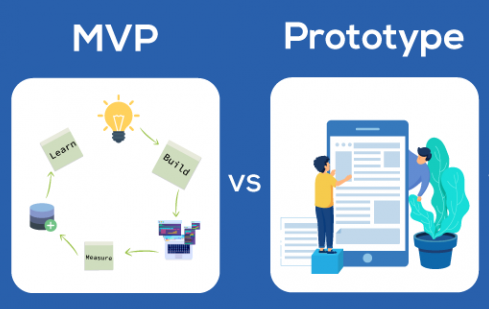 A use case for differences between a prototype and a MVP