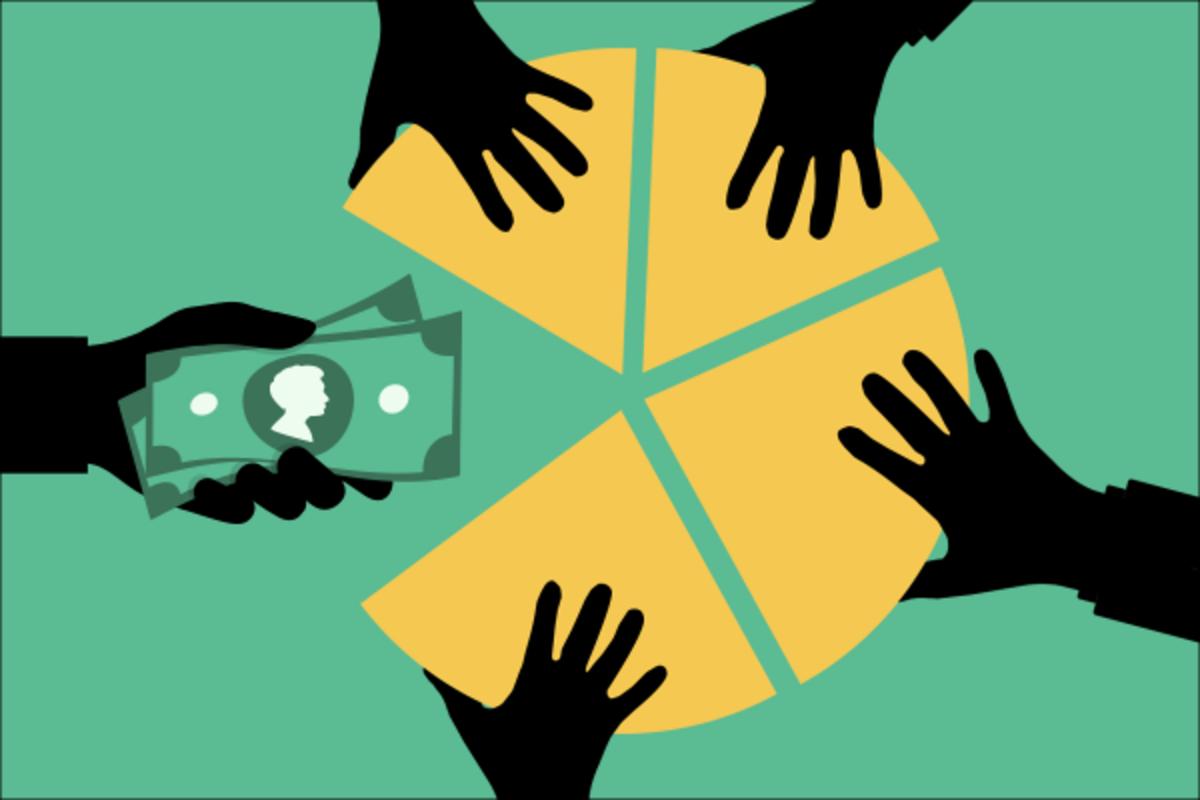 Joel Spolsky's method for splitting shares in a startup